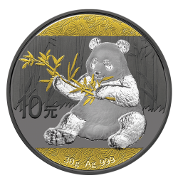 Chińska Panda 1 oz -  multiplate plated