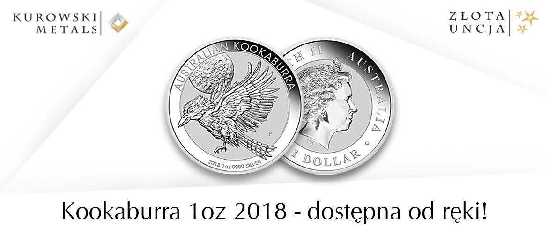 Kookaburra 2018 1oz - dostępna od ręki!